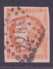 """FRANCE N°48 """" BORDEAUX 40c ORANGE """" OBLITERE TTB"""