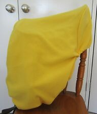 Horse Stock / Western / Swinging Fender Saddle cover FREE EMBROIDERY Yellow