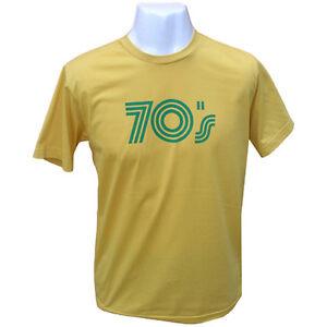 Mens 70's 80's Funk Retro Vintage Soul T-Shirt Large