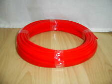 Polyurethane Tube PU Pneumatic Hose Red 8mm x5.5mm x 25 mtr