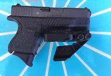 Crazy Eyes Holsters, Glock G26, G27 IWB KYDEX Holster/trigger Guard
