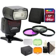 Nikon SB-700 AF Speedlight Flash for Nikon D5100 D5300 D5500 +64GB Accessory Kit