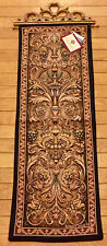 Biltmore Estate Vanderbilt Tapestry Wall Hanging Panel w/Topper
