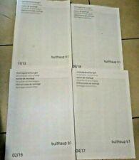 technischen Broschüren, Anleitung , Montage von Bulthaup b1  montageanleitung