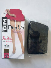 DIM UP BEAUTY SUBLIM VOILE BRILLANT 15 DEN TAILLE 2 COLORI NOIR