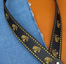 SARATOGA Cotton USA made A & F-style TROPHY Mandolin Strap