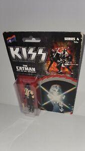 KISS Collectible Action Figure Catman Peter Criss Rock Roll Over  Bif Series 4