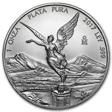 MESSICO LIBERTAD ARGENTO 2017 999 Moneta d'Argento 1 ONCIA Dea della Vittoria
