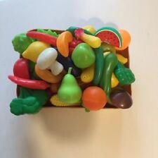 Corbeille de Fruits et Légumes pour Jouer à la dînette où à la marchande