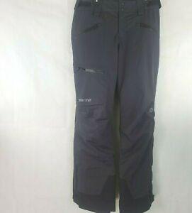 Marmot Refuge Womens Winter Snow Ski Pants Black Size Small WP-406