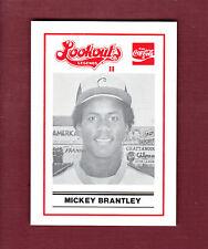 MICKEY BRANTLEY~1989 Chattanooga Lookouts LEGENDS II Regional History Museum