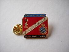 a3 TOTTENHAM - BRUGGE cup uefa europa league 2007 spilla football calcio pins