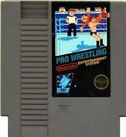 Pro Wrestling - Nintendo NES Game Authentic