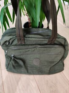 Kipling Khaki 'Live Light' Shoulder Bag VGC