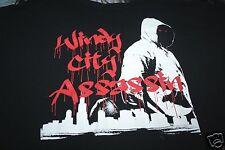 Windy City Assassin XXXXL Black 21King Brand Short Sleeves