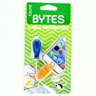 Tzumi Cord Bytes Cell Phone Cable Protector Blue Whale/Hippo Pack NEW