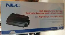NEC 20-152 Genuine High Capacity Toner 1400, 1450, 1450N Brand New