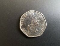 The Tale Of Peter Rabbit Beatrix Potter 50p Fifty Pence coin 2017