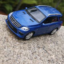 Mercedes-Benz Ml63 AMG SUV 1 32 Alloy Diecast Model Car Sound&light Red Wine Toy
