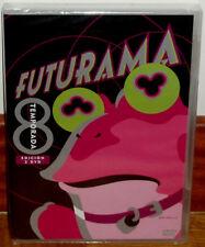 FUTURAMA 8º TEMPORADA COMPLETA 2 DVD NUEVO PRECINTADO CIENCIA FICCION (SIN ABRIR
