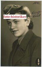 Foto Repro kein Zeitgenössisches original Frau Uniform Blitzmädel Nachrichten H