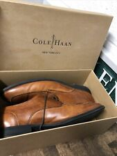 Cole Haan Air Adams British Tan Leather Shoes Size 10.5