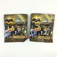LOT OF 2 MIGHTY MINIS Series 1 Mini Figure Mystery Pack Batman v Superman NEW
