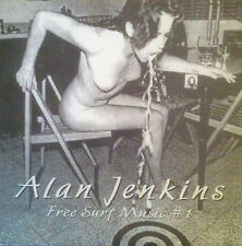 Alan Jenkins & Thurston Lava Tube-Free Surf Music #1 Vinyl LP (Frank Zappa)