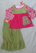 NWT Flit & Flitter 3 3T Girl Knit Set Outfit Christmas Holiday Boutique Pink