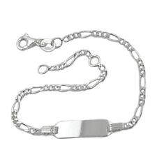 Schildband für Kinder Silber 925 135002-16