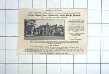 1936 Poyle Manor Near Colnbrook Bucks Border 14 Acres For Sale