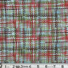 Zapper 07 Multi-Color Plaid Cotton Quilting Sewing Fabric - Colorful - BTY