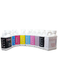 Dye Sublimation Ink 9 240ml Bottles For Epson Stylus Pro 3800 3880 Non Oem