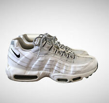 NIKE Air Max 95 White and Black Men's Trainers Shoes Sneakers Size UK 8 EU 42.5