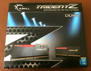 G.Skill Trident Z F4-3200C15Q-64GTZ (64 GB DDR4 3200MhZ 4x16GB)
