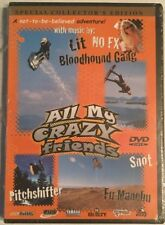 All My Crazy Friends DVD Special Collector's Edition Extreme Sports Rare OOP