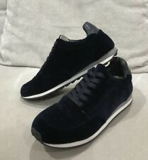 Witchery Bronni Trainer Shoes in Navy Velvet/ Leather excellent/super clean Sz38