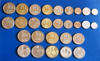 Complete set of Israel Old Sheqel & Special Issue Coins - Lot of 14 Coins
