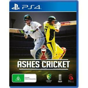 Ashes Cricket PS4 PlayStation VERY GOOD FREE POST + TRACKING