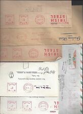 IRELAND 1960's COLL 6 COMMERCIAL COVER WITH METER CANCELS IRISH STEEL & GRESHAM