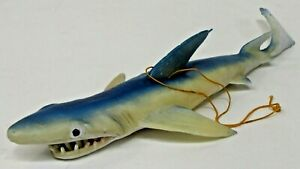 """giant 12.5"""" SHARK Jiggler jiggly toy by Imco circa 1975 JAWS MOVIE?"""