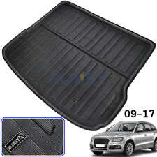 Rear Trunk Mat For AUDI Q5 SQ5 8R 08-17 Cargo Liner Boot Floor Tray Protector