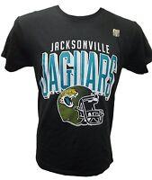 Jacksonville Jaguars NFL Men's Raised Helmet Graphic T Shirt