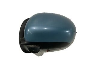 2009-2014 Nissan Cube left driver side view door mirror Caribbean Blue Pearl RAH