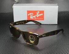 RAY BAN RB2132 710 New Wayfarer Light Havana Crystal Brown 52 Unisex Sunglasses