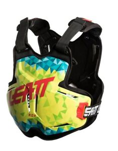 2019 LEATT 2.5 CHEST PROTECTOR ROX LIME TEAL ADULT ROOST MOTOCROSS ARMOUR BMX