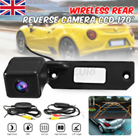 Car Wireless Rear Reversing Reverse Camera For VW Passat 3B Golf Transporter