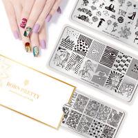 BORN PRETTY Nail Stamping Plates Valentine's Day Theme Nail Art Image Templates