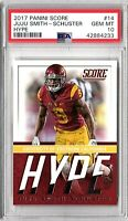 "2017 Panini Score Juju Smith-Schuster 'Hype""  #14 ROOKIE PSA 10 GEM MINT"