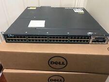 CISCO WS-C3560X-48PF-E 48 Port PoE+ Network Switch 1100W IP SERVICES C3KX-NM-10G